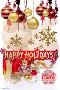 Copia di happy holidays - Fatto con PosterMyWall